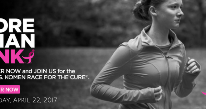 The 2018 Fort Worth Race for the Cure is on April 28th